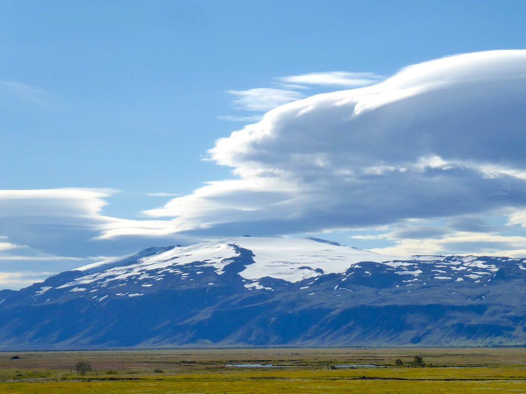 Vulkan Eyjafjallajökull und Myrdalsjökull