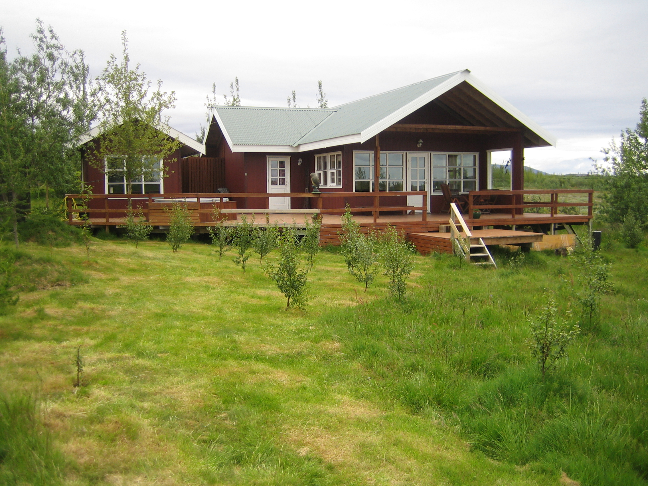 Island, Suedisland, Nahe Laugarvatn, Ferienhaus Fuglakot