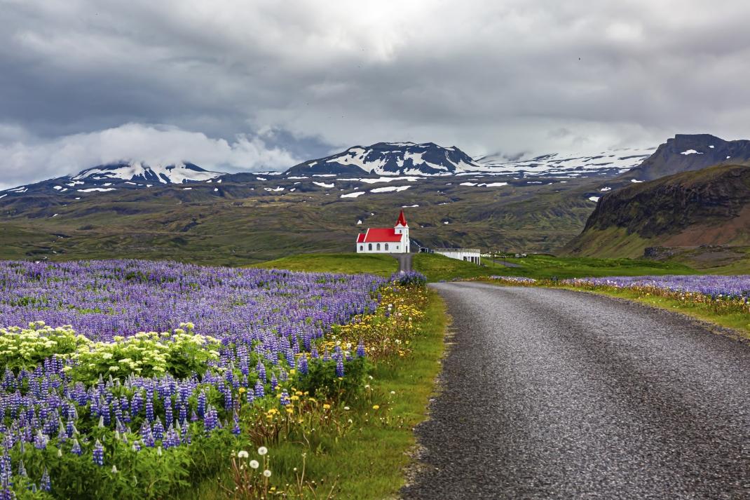 Kirche in Islands Natur Fotowettbewerb Gewinner 2020