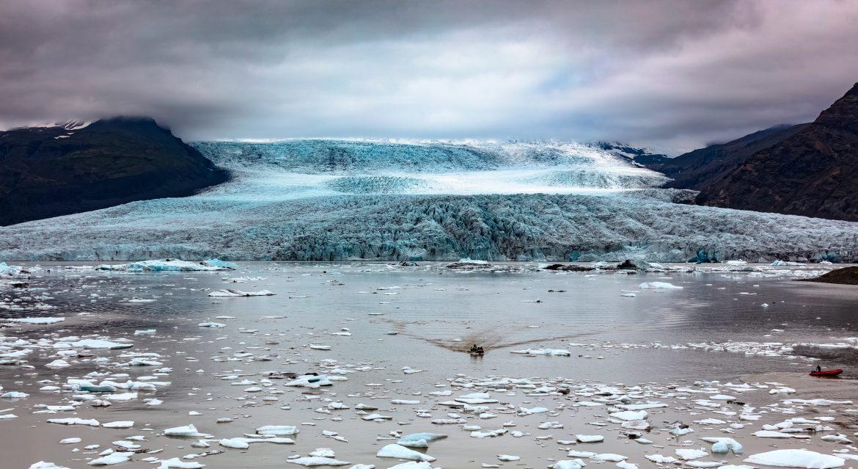 Island, Suedisland, Gltescherlagune Fjallsarlon, Gletscher, Gletscherzunge, Eisberge, Bootstour, Zodiac, Eis, Fotowettbewerb 2018