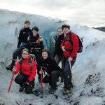 Team-Gletscherwanderung