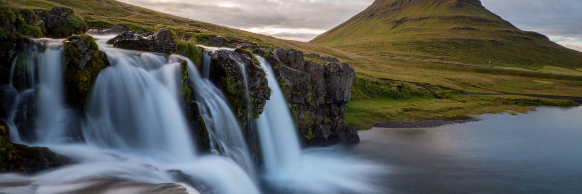 Berg Kirkjufell auf der Snaefellsnes Halbinsel
