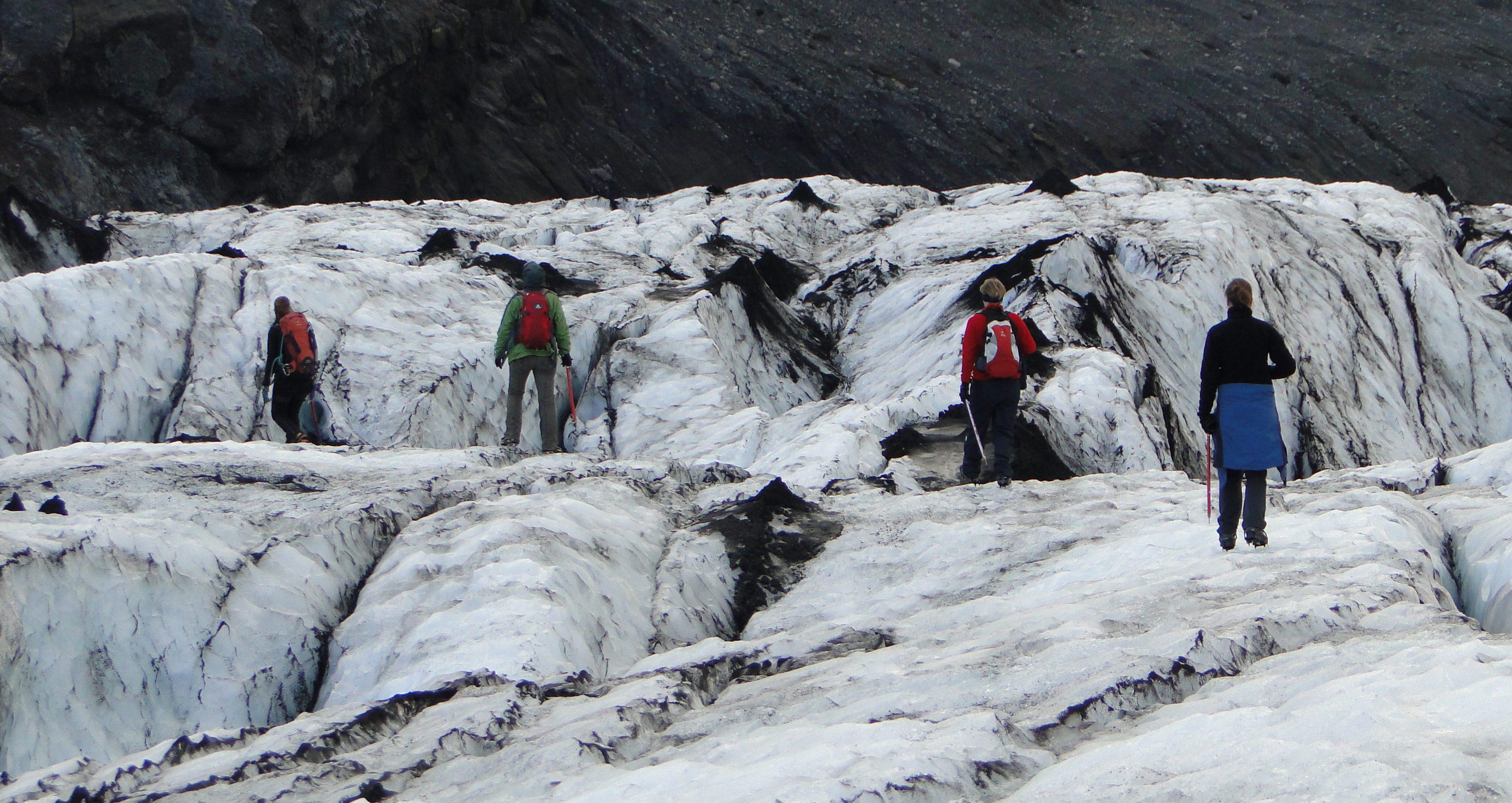 Gletscherwanderung Katla Team