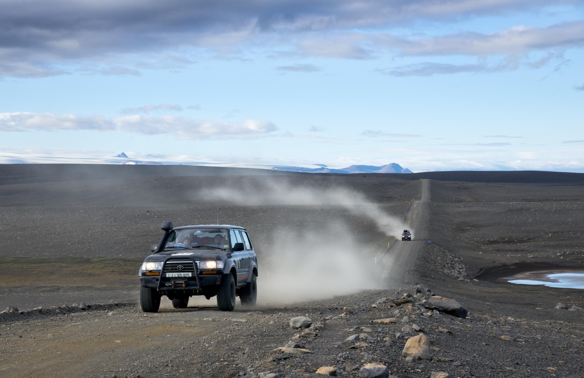 Sprengisandur Island Jeep Linkel