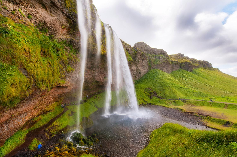 Europa, Skandinavien, Island, Suedisland, Seljalandsfoss, Wasserfall, Landschaft, Natur, Insel, Naturgewalt, Norden, WerbungPR, 8/2011