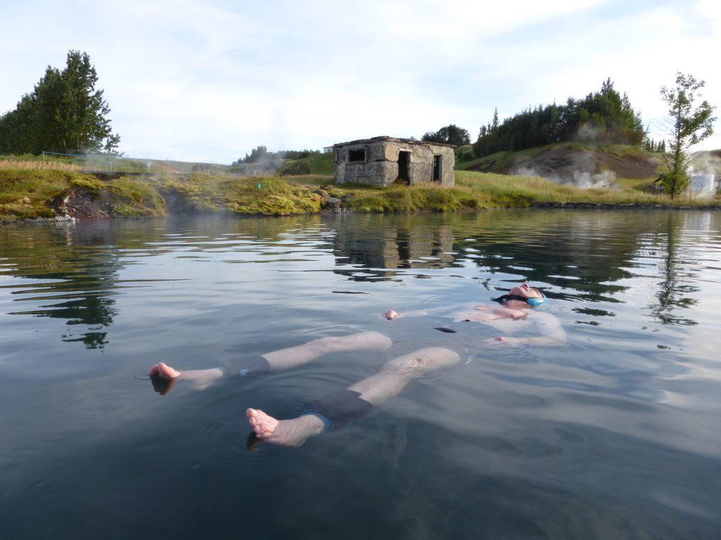 Floating Secret Lagoon