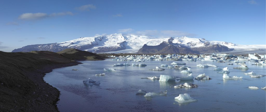 Gletscher Oraefajokull Island-panorama - iceland.is inspired by iceland