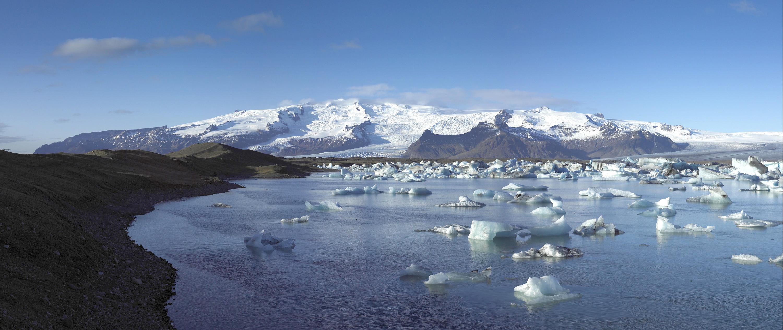 Gletscher Oraefajokull Island-panorama - iceland.is inspired by iceland