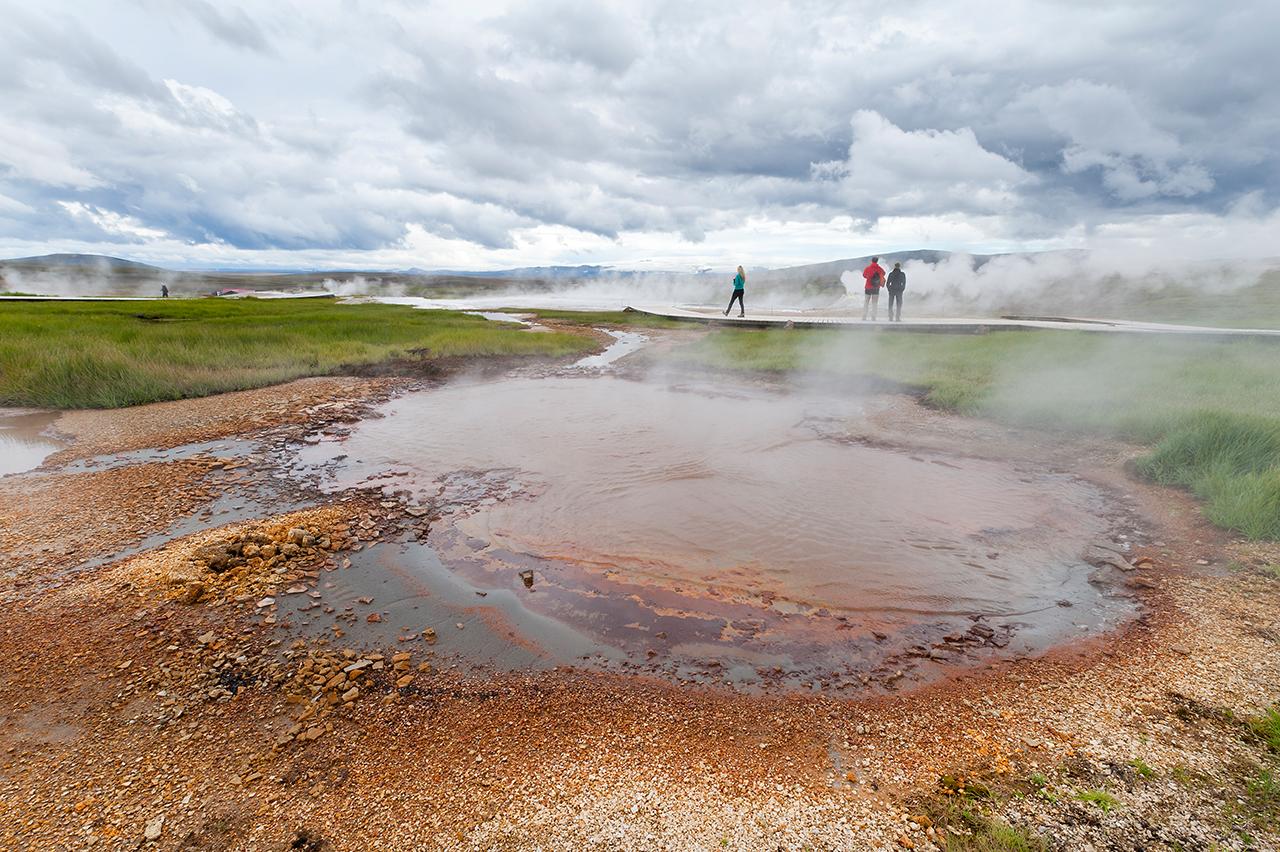 Island, Hochland, Kjoelur, Hveravellir, Hochthermalgebiet, Dampffumarole, Fumarole, Hochlandroute, Landschaft, Natur, WerbungPR, 7/2014