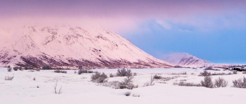 Südisland im Winterkleid