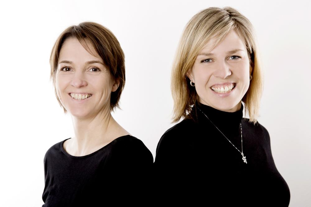 Júlía Sigursteinsdóttir und Susan Stefanski