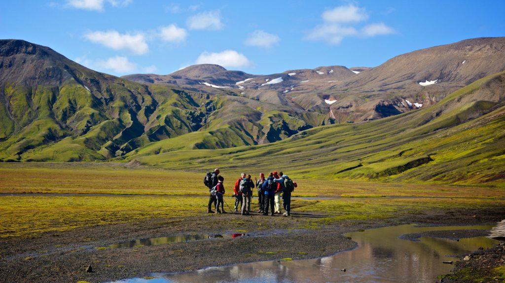 Wandern auf dem Strutur Trail