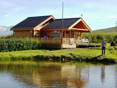 Ferienhaus Lynghamar in Island