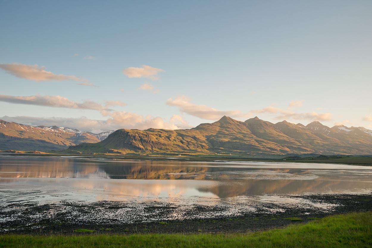 Ostfjorde Fjordlandschaften in Island