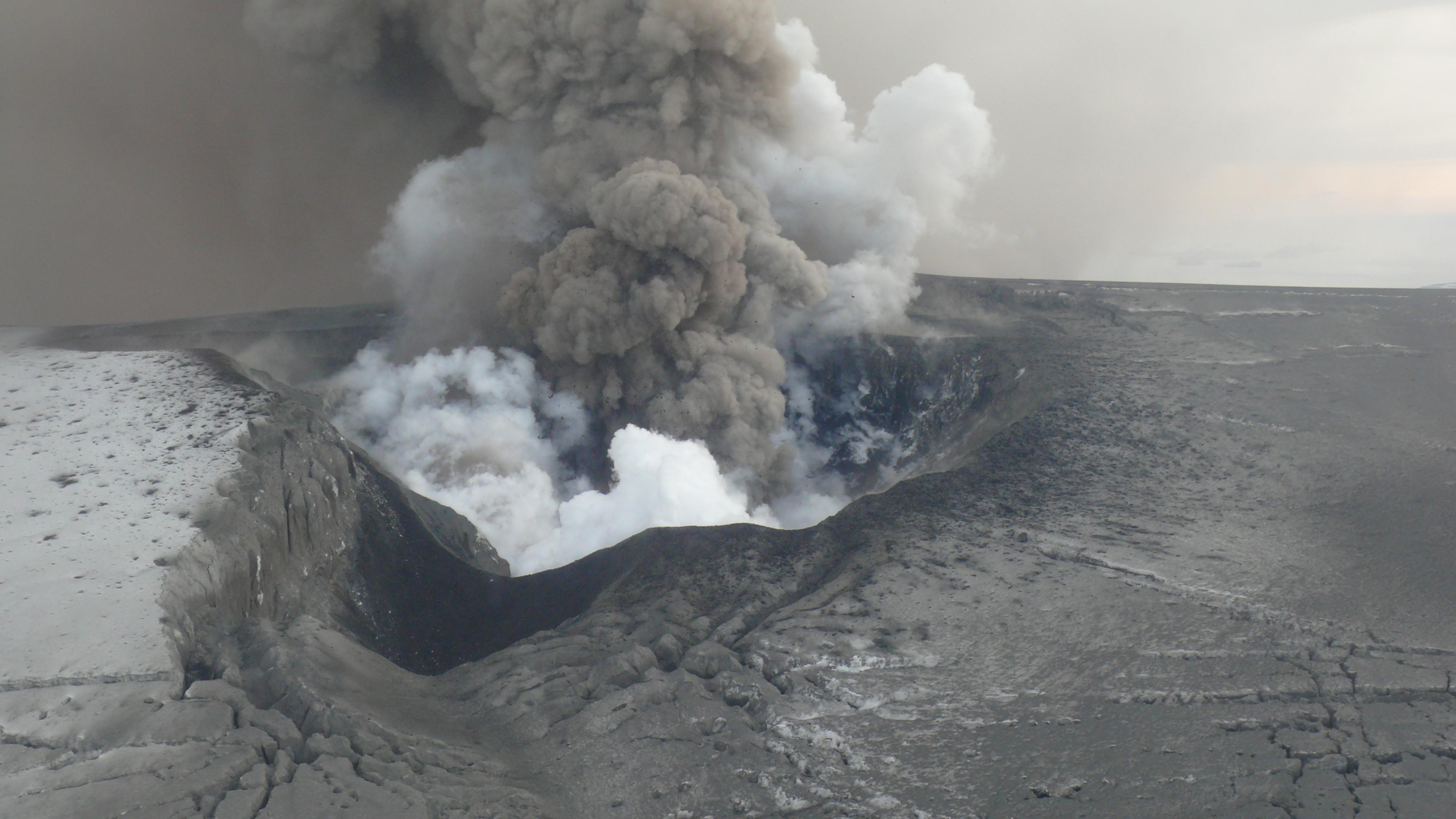 Island, Vulkanausbruch, Eyjafjallajökull, Aschewolke