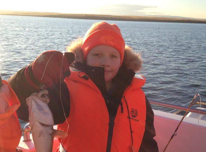 Angler in Island