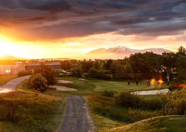 Golf in Akureyri, Nordisland