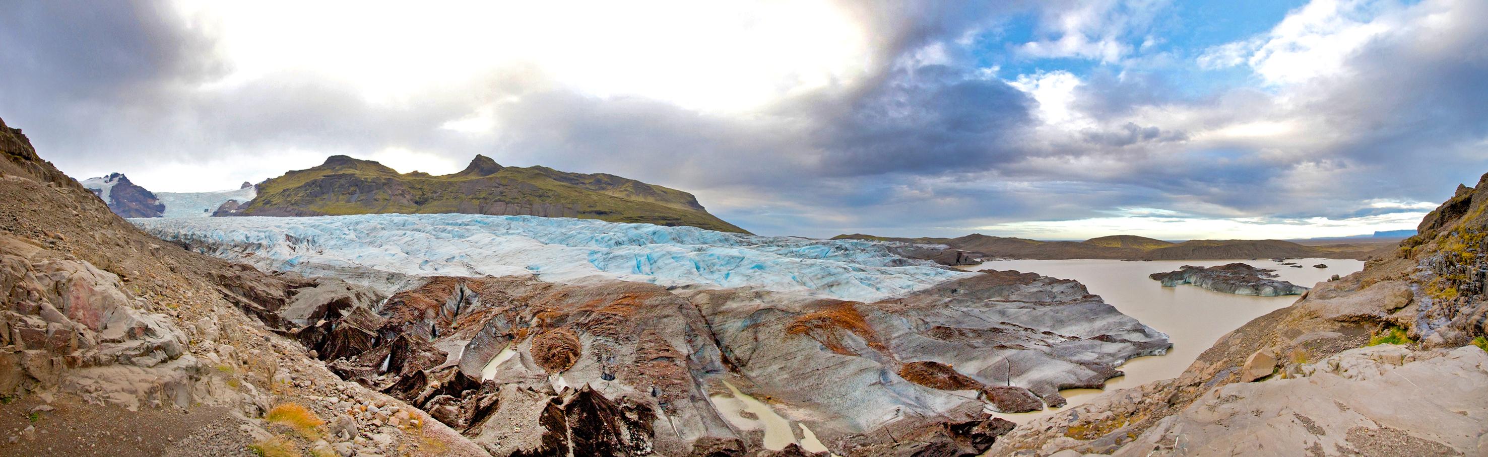 Island, Suedisland, Südisland, Skaftafell Nationalpark, Vatnajökull, Gletscher, Gletscherzunge, Eis,