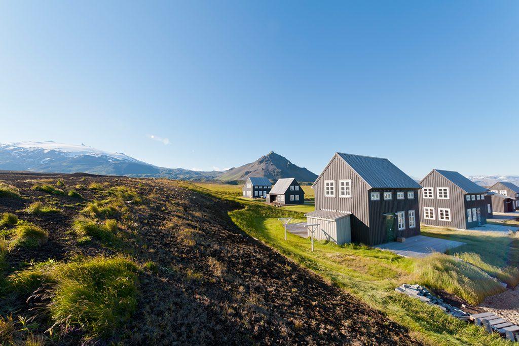 Ferienhaus Heillasteinn in Island