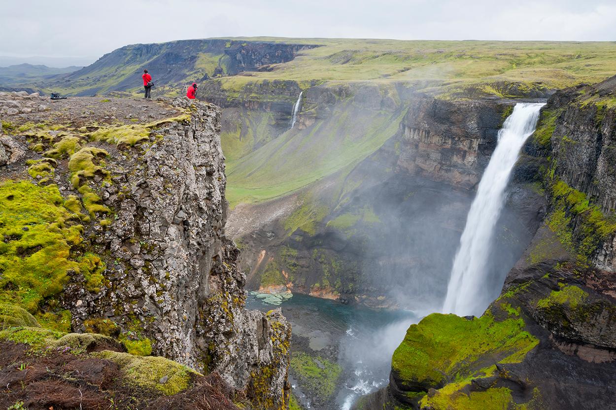 Wasserfall Südisland