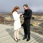 Trauung in Thingvellir Daniel und Sibylle 2010