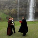 Hochzeit in Island am Seljalandsfoss