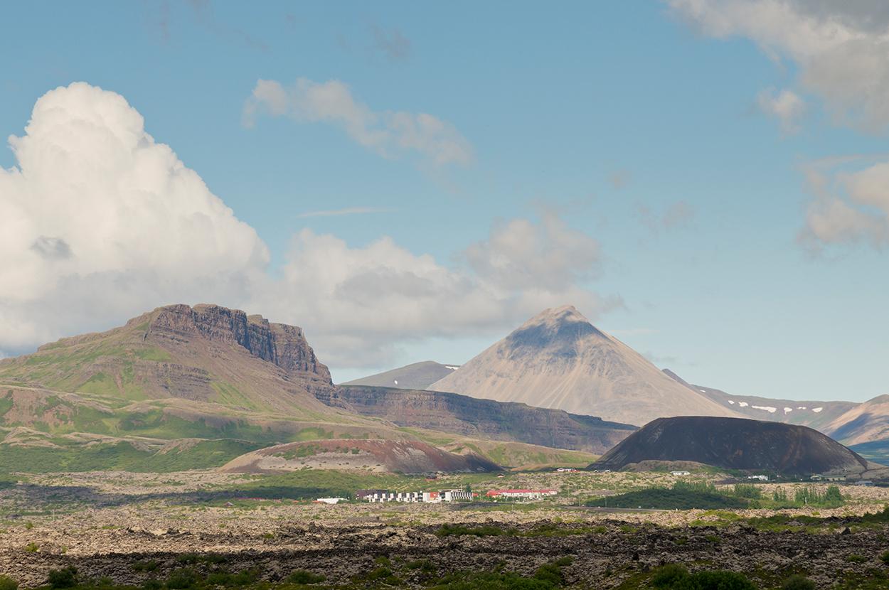 Europa, Island, Snaefellsness Halbinsel, Bauernhof, Landschaft, Berge, WerbungPR, 7/2014
