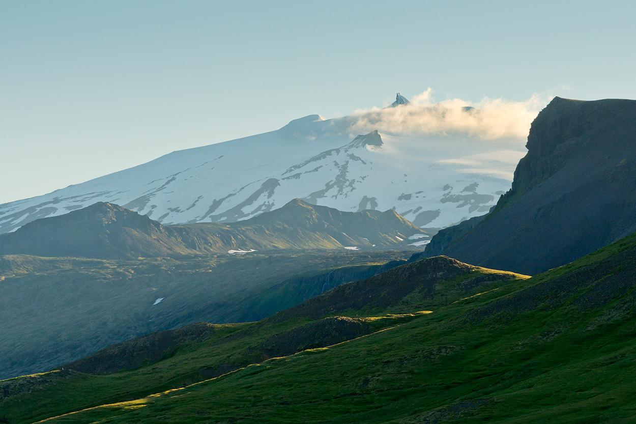 Europa, Island, Snaefellsness Halbinsel, Gletscher