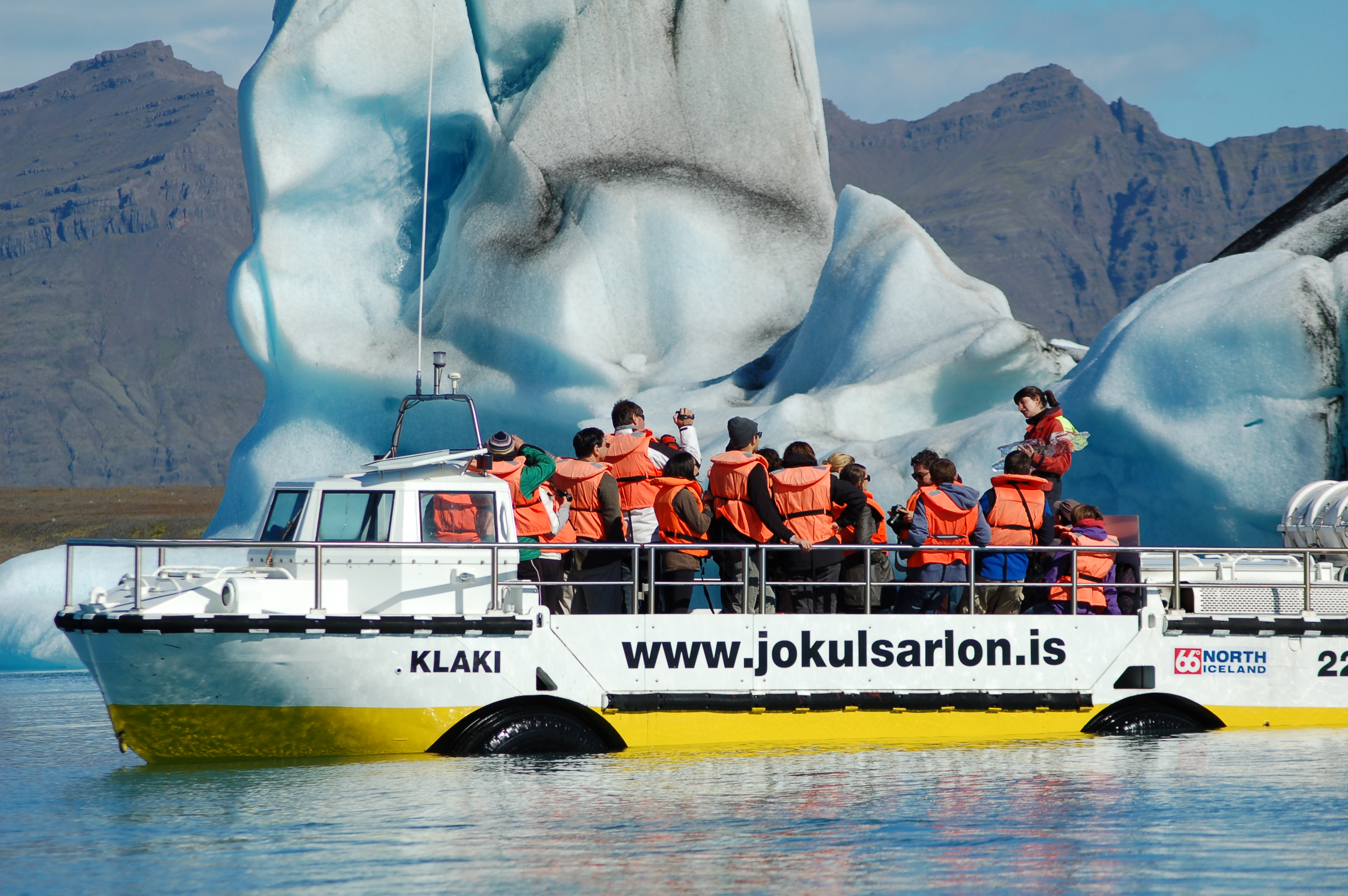 Amphibientour Glacier Lagoon Jökulsárlón