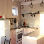 Küche im Ferienhaus Stokkasund in Island