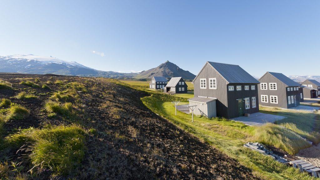 Ferienhäuser in Island auf der Halbinsel Snaefellsnes