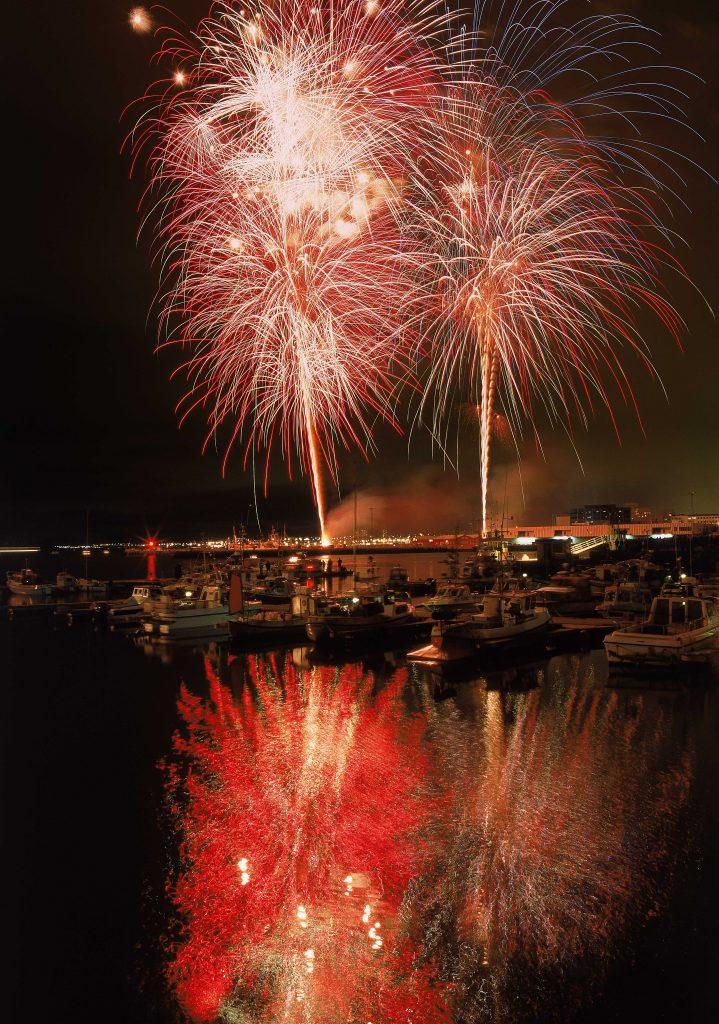 Silvester Feuerwerk in Reykjavik