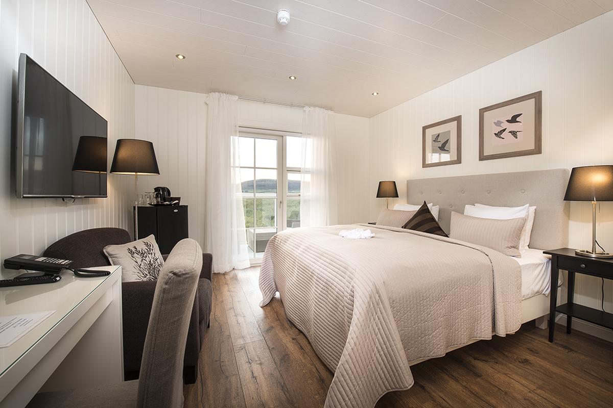 Hotel Grimsborgir in Südisland Superior Doppelzimmer