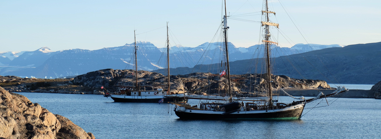 die Segelschiffe von Northsailing in Grönland