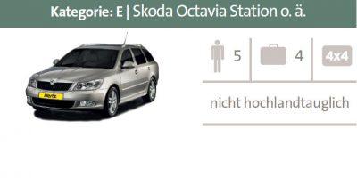 Mietwagen Kategorie E