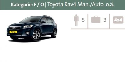 Mietwagen Kategorie F / O