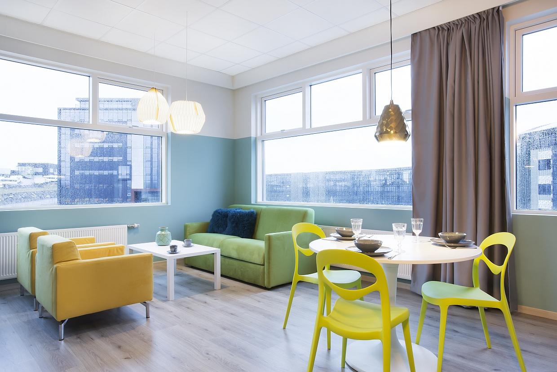Icelandic Apartment in Reykjavik Inneneinrichtung