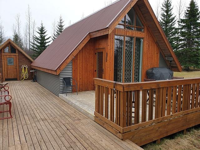 Ferienhaus mit Terrasse in Island
