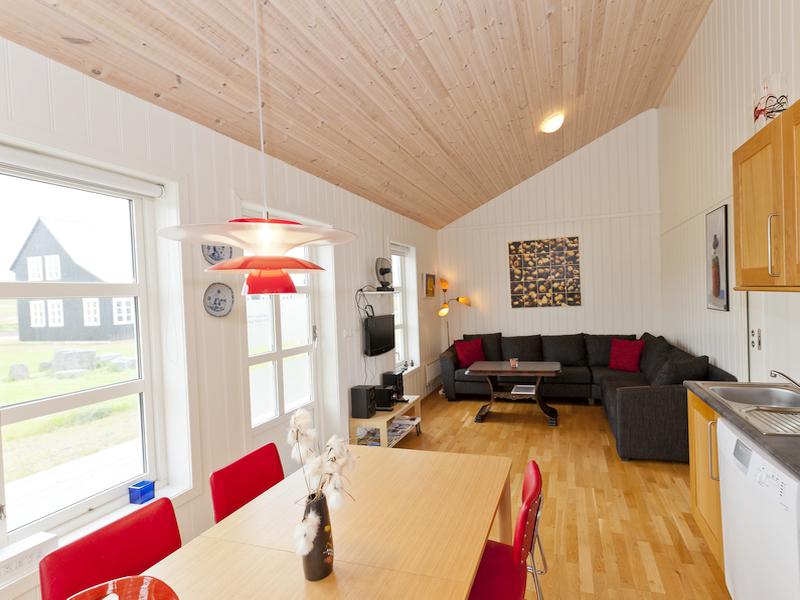 Innenausstattung eines Ferienhauses in Island