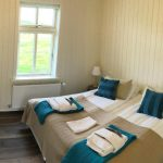 Doppelzimmer im Hotel Laekur in Südisland