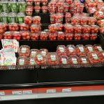 Tomaten und Gemüse in einem Supermarkt in Island