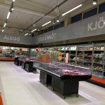 Innenansicht eines Hagkaup-Supermarktes in Island