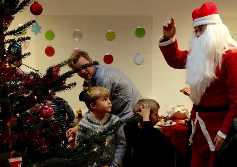 Weihnachtsmann Kind Island Weihnachten