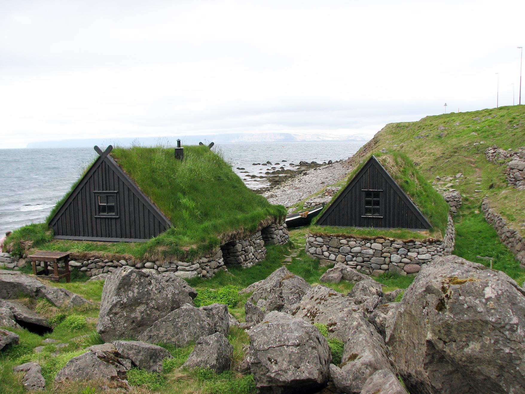 Heimatmuseum Osvör in Bolungarvik in den Westfjorden von Island