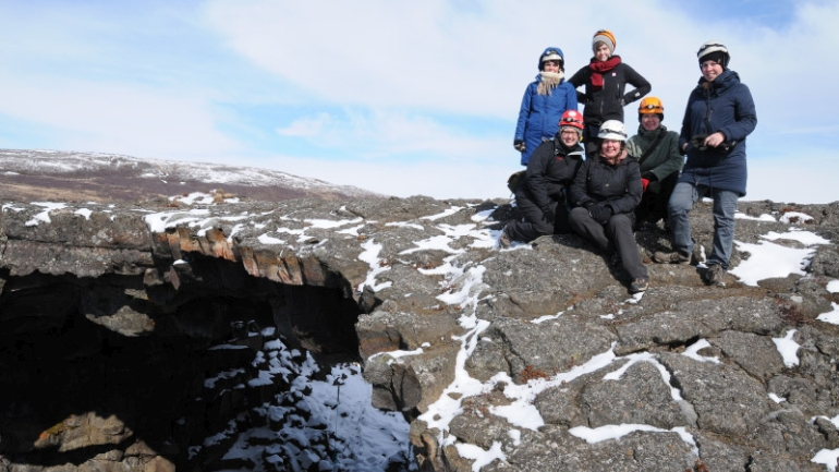 Katla Travel Team in Island