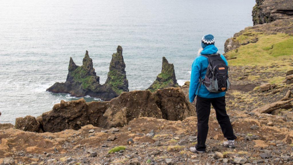 Island mit Ausblick Katla Team in Island
