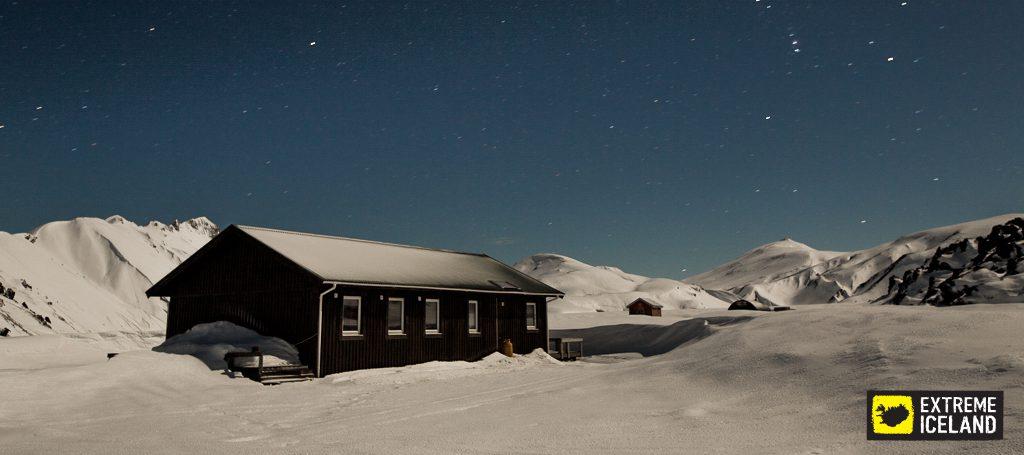 Hütte von Landmannalaugar