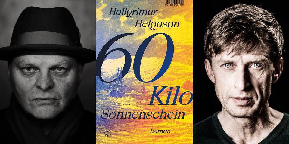 Buchtitel mit Bild von Hallgrimur Helgason