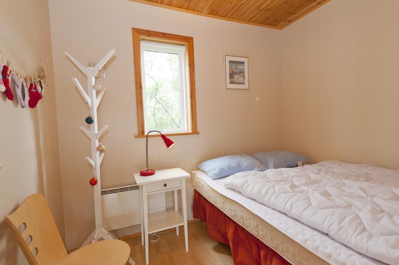 Ferienhausbeispiel, Haus Hrafnasteinn, Schlafzimmer