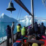 Boodsfahrt im Qooroq Eisfjörd in Südgrönland